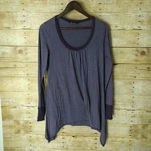Ella Moss Lightweight Purple Long Sleeve
